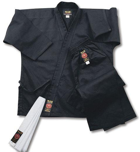 M.A.R INTERNATIONAL -  BLACK KARATE GI